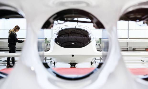 German startup Lilium is developing the electric car Azul wants to bring to the country: the manufacturer has one of about 140 such projects under development in the world Photo: clone / publicity