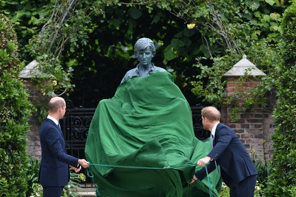 Statue of Prince William and Harry Diana Launch Event_1