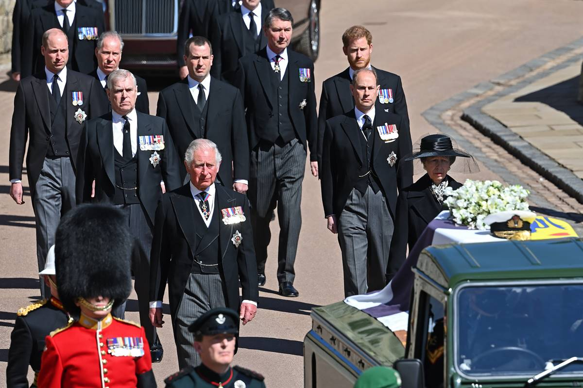 Not the funeral rites of Prince Charles Philip