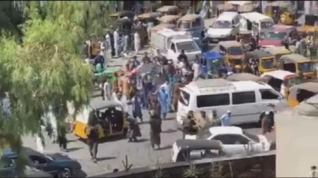 The Taliban suppressed a violent protest in Afghanistan, killing at least 3 people |  Globalism
