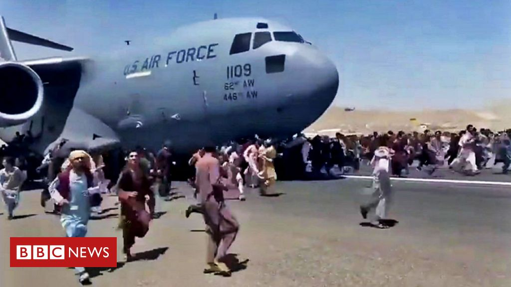 Afghanistan: Remains on US aircraft landing gear