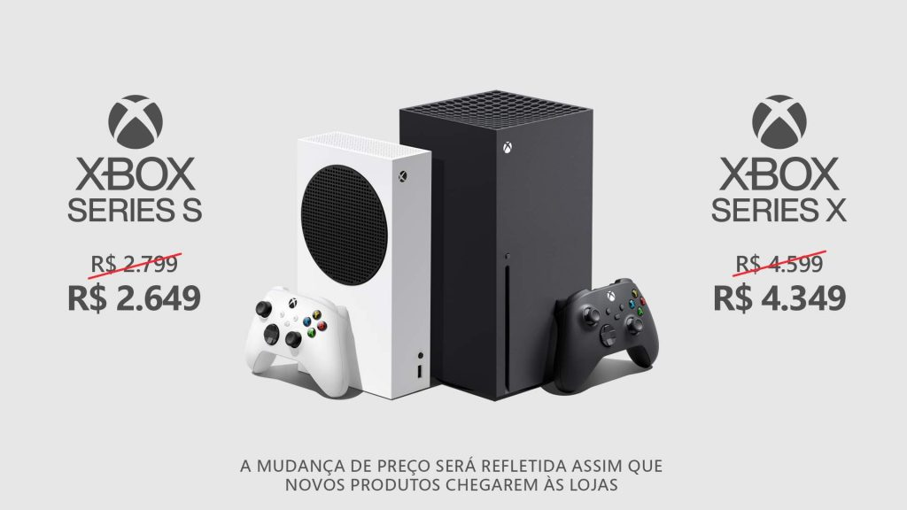 We turned it down!  Xbox Brazil Finally Lowers Xbox Series X Suggested Values |  S and accessories