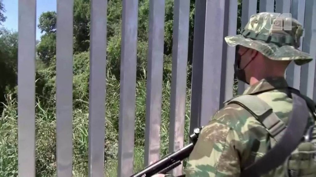 Greece builds a 40 km wall to prevent entry of Afghan refugees |  Globalism