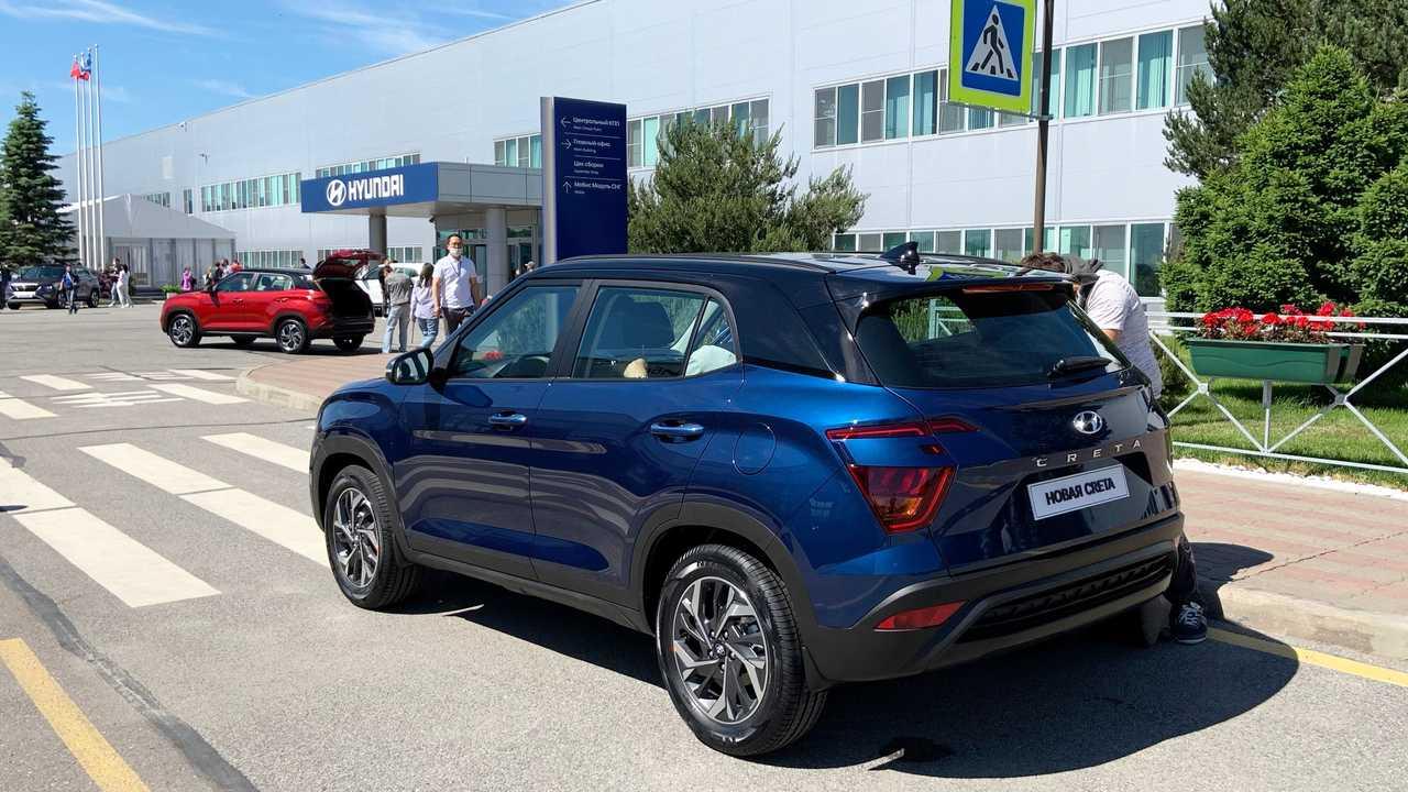 Hyundai Crete 2022 (Russia) - Live Photos