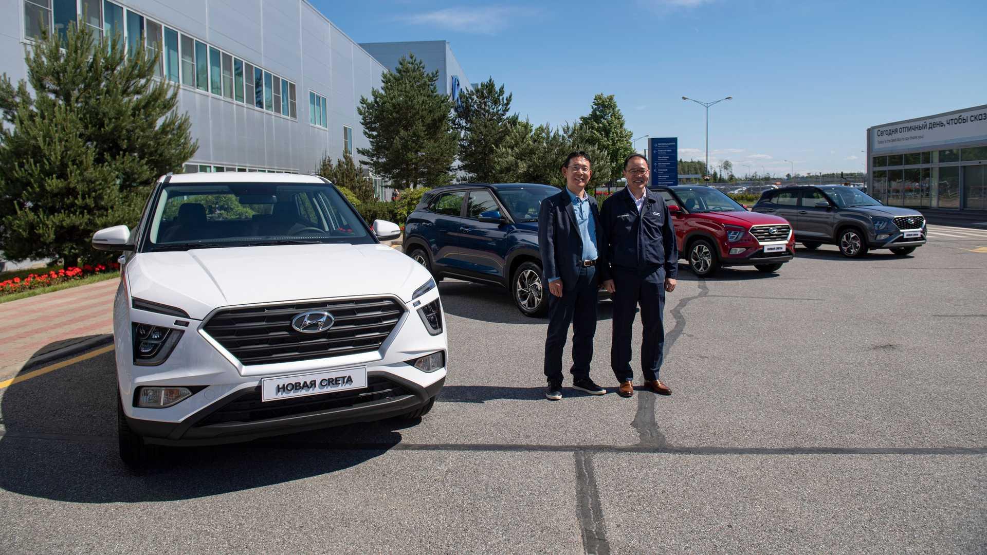 Hyundai Crete 2022 (Russia)