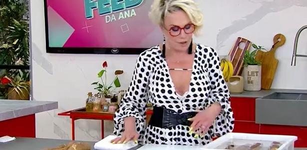 """Ana Maria Braga cuts live cassava plants in """"Mais Você"""" and becomes a meme"""