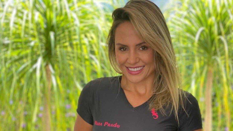 Nara Prado is a personal trainer and former athlete for the Brazilian handball team