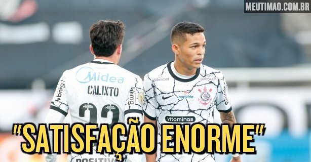 Addson says he is living a dream in Corinthians and reveals that he gained four kilos on the professional team