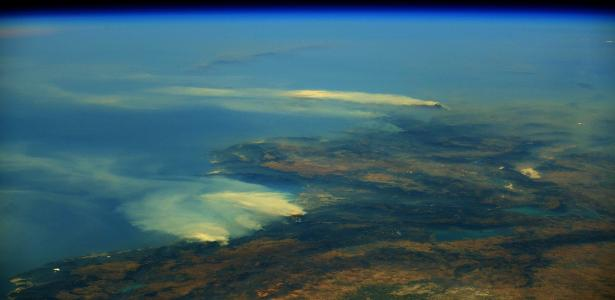 Astronauts were shocked to see the impact of wildfires on Earth - 08/17/2021