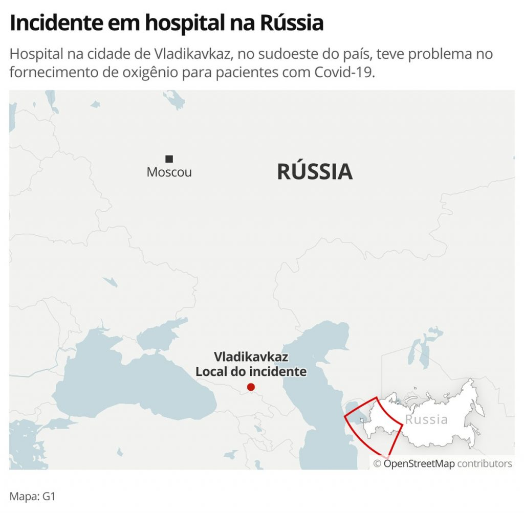 Covid-19 patients die after oxygen tube ruptures in Russia    Globalism