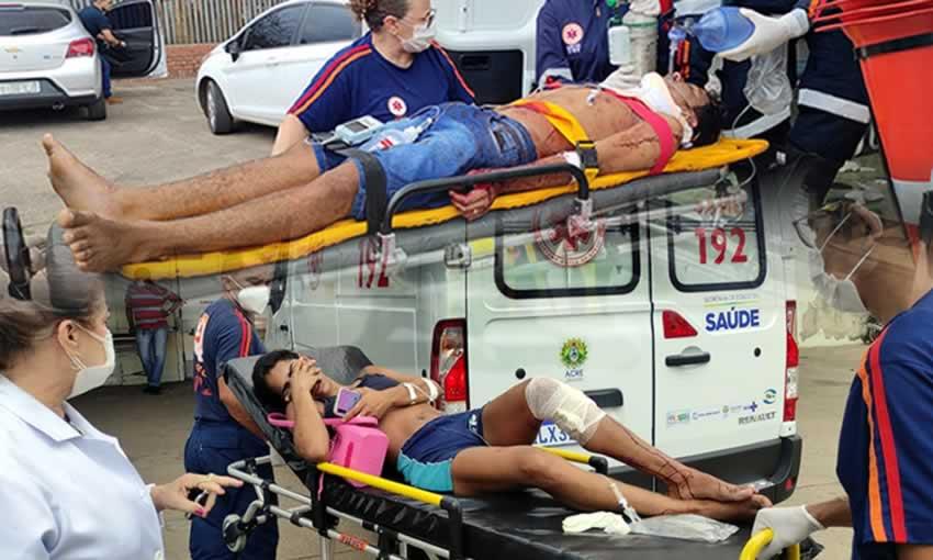 Criminals break into apartment and injure a married couple in Baixada da Sobral |  ac24horas.com