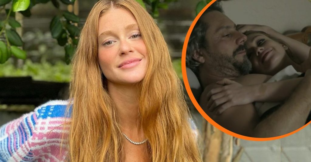 """Marina Ruy Barbosa admits her mother's discomfort with her hot scenes in Empire: """"The situation is tense"""" 