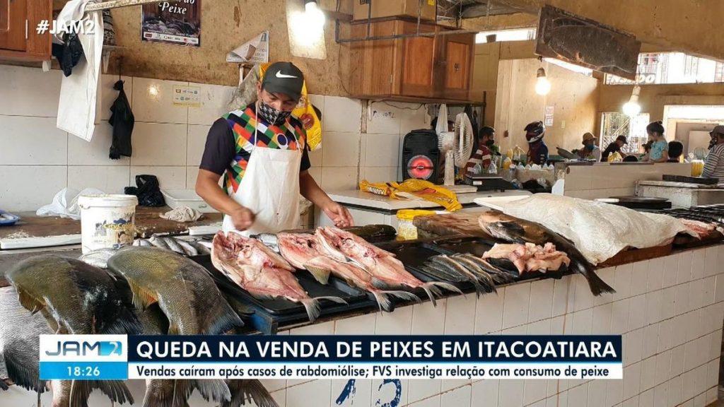 Marketers report drop in fish sales after cases of 'black urine disease' in Itacoatiara |  Amazon