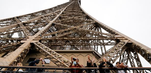 Paris suffers from a lack of tourists due to the epidemic