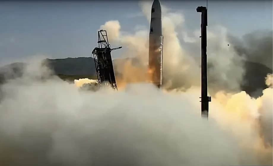 The launch fails and the Astra missile moves sideways
