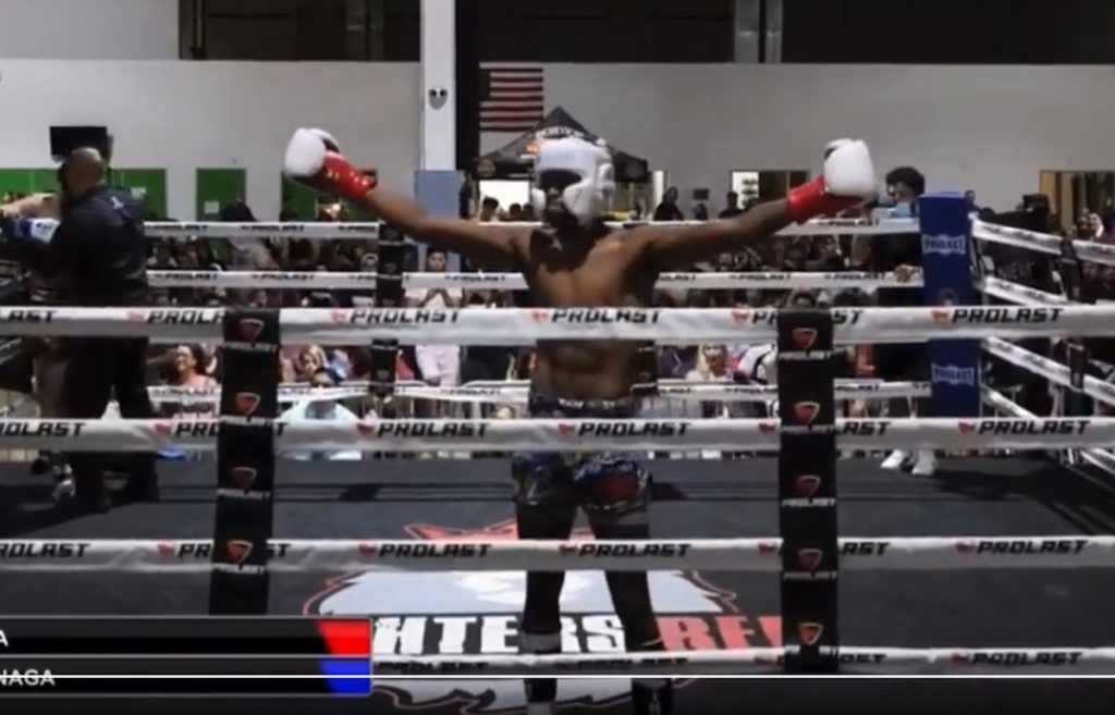 Video: Anderson Silva's son makes his kickboxing debut with an eight-second knockout    fighting