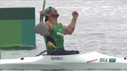Historical!  Fernando Rufino wins the first Brazilian gold in the game of Paracano!