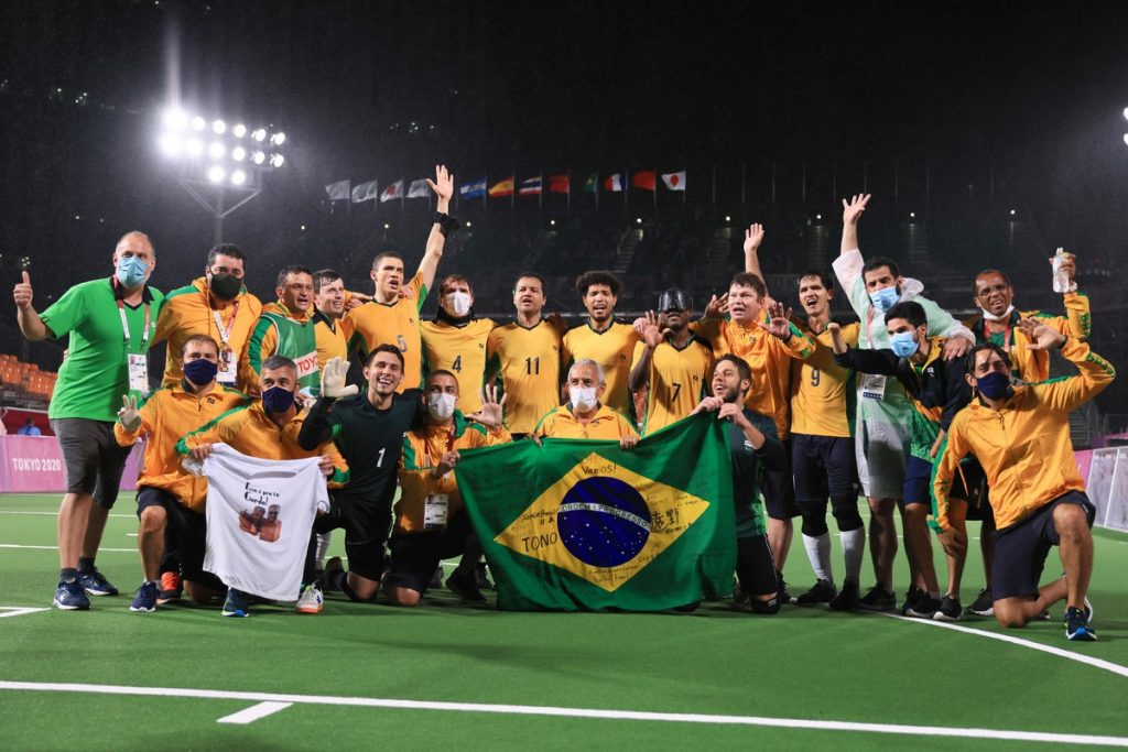 Paralympic Games summary: Brazil wins 5th place out of 5 in football and gets a gold record in games |  Paralympic Games