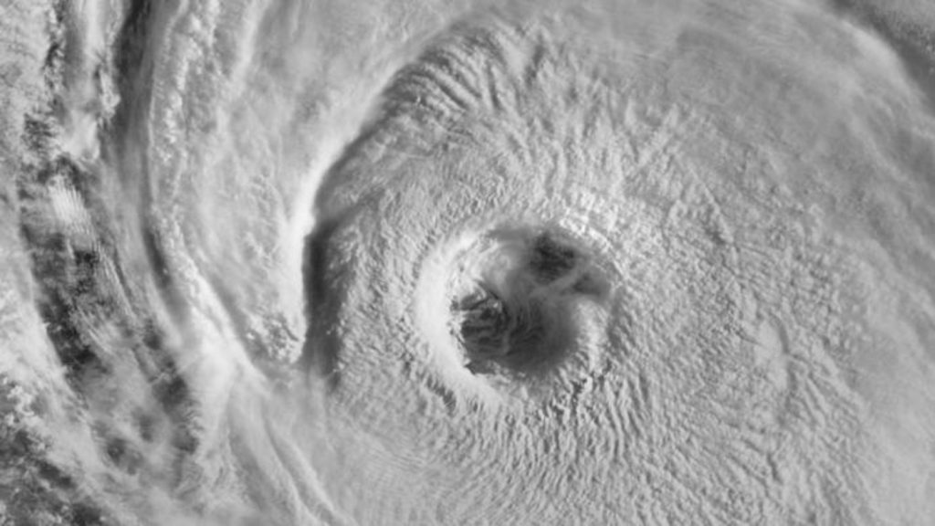 Another major hurricane is causing waves up to 15 meters high in the Atlantic Ocean