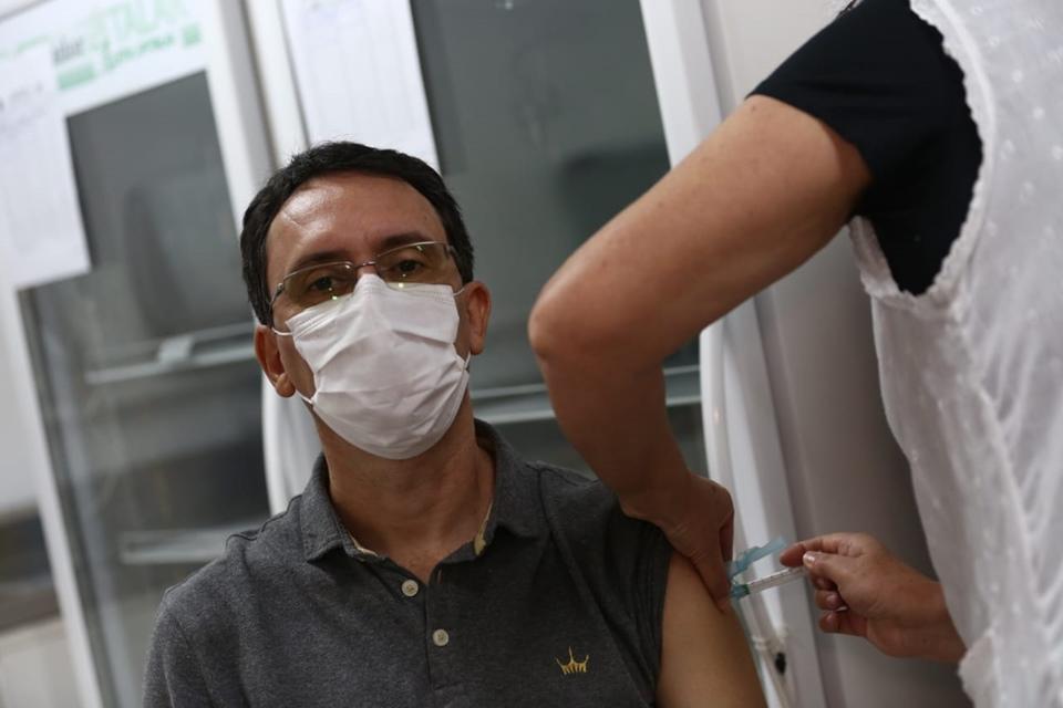 man vaccination