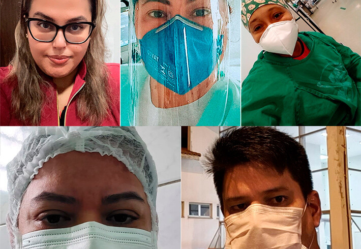 Stress and uncertainty: health professionals recount their daily lives at the height of the epidemic in Rondonia - Geral - Rondoniagora.com