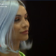 A Fazenda 2021: Aline Mineiro opted for a blue wig for the second party - Reproduction / PlayPlus