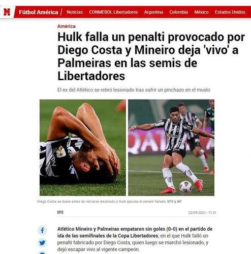 Marca, from Spain: 'Hulk failed p