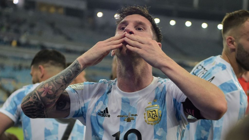 Argentina: Messi says where the Copa America is located on the cup shelf and the air vents: 'I've been through a lot'