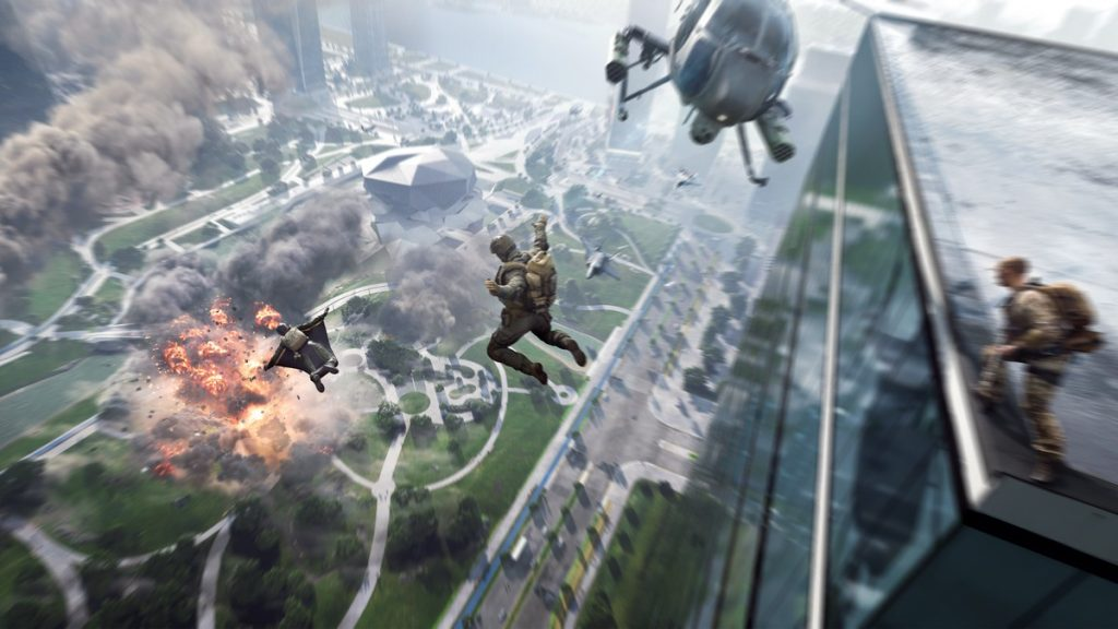 Battlefield 2042 release has been delayed by one month;  See the new history    shoot games