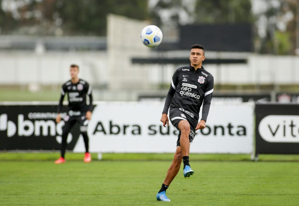 Cantelo passes the test, does well in the derby and should get another chance at Corinthians on Saturday |  Corinthians