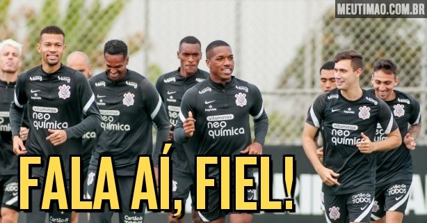Corinthians fans suggest possible lineups for the match against America-MG;  see models