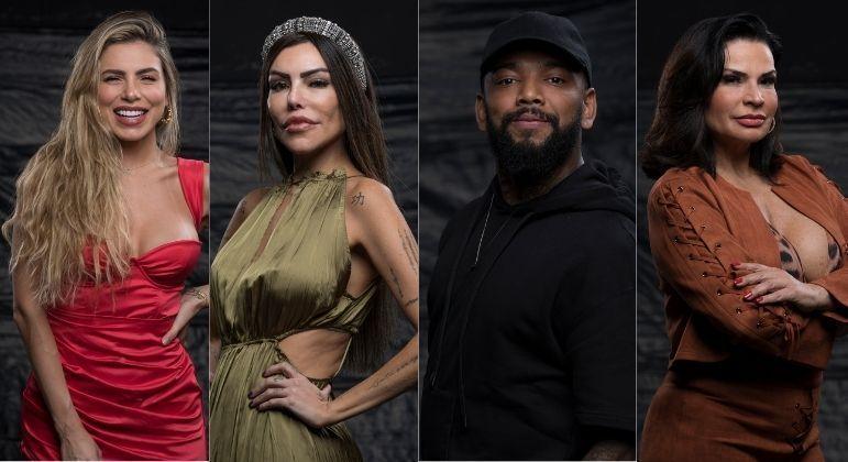 Erika, Liziane, Nego do Borel and Solange are nominated for the first Roca from A Fazenda 13 - A Fazenda