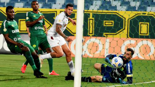 Fluminense advances, but draws from Cuiaba and misses a chance to enter the Group of Six from Brazil