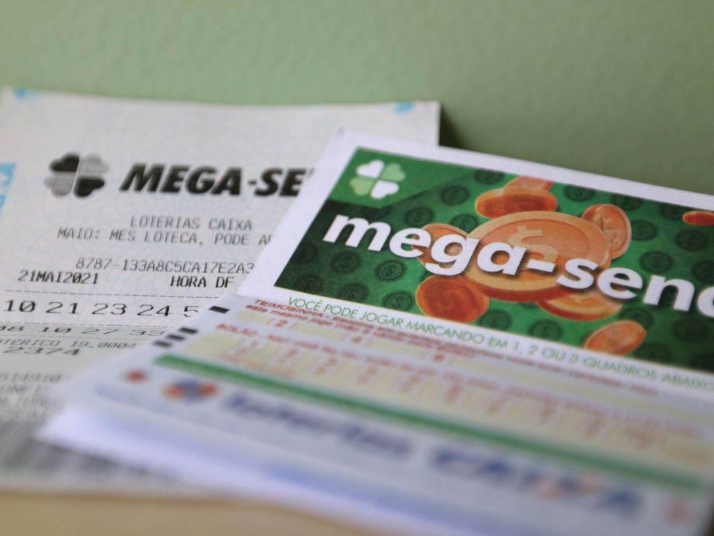 Bilhetes de aposta da Mega-Sena