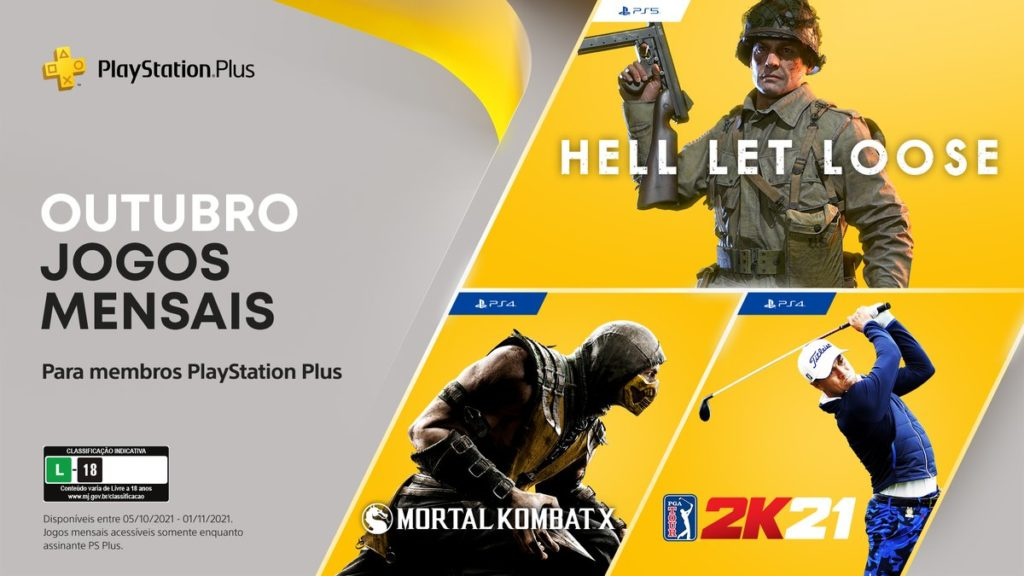 PS Plus as of October 2021