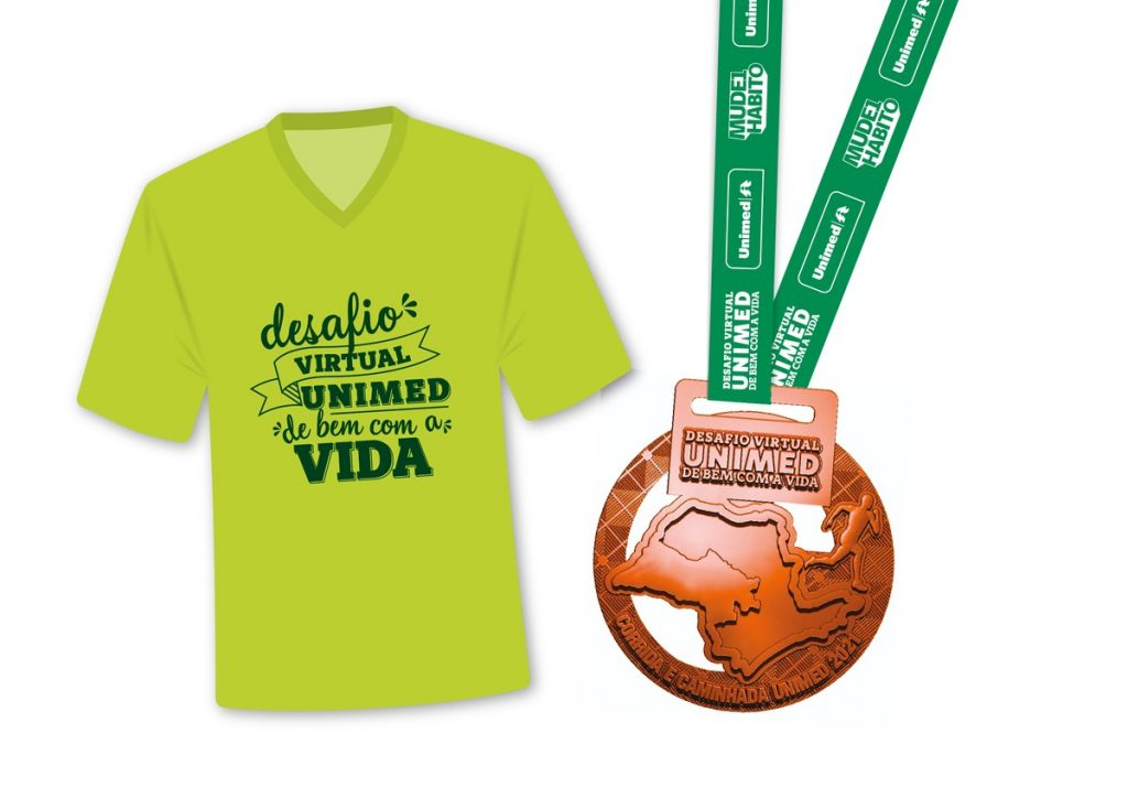 Registration is open for Unimed De Bem com a Vida Virtual Challenge |  Exclusive ad in the Midwest Unlimited for São Paulo