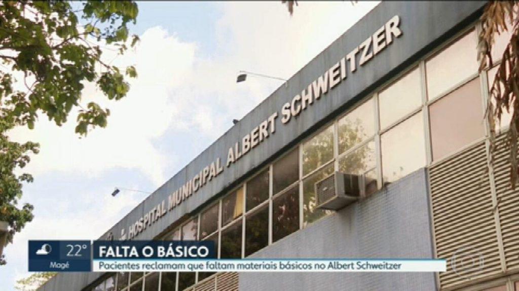 Relatives of patients say that Albert Schweitzer Hospital lacks tape even |  Rio de Janeiro