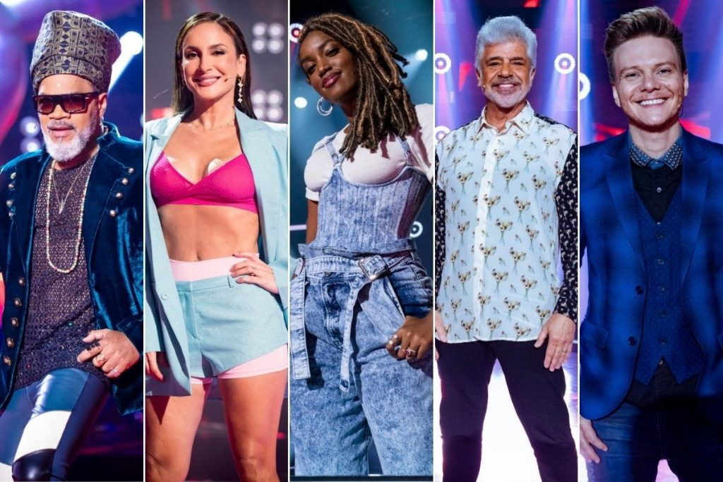 """The tenth season of """"The Voice Brasil"""" features five technicians and unprecedented dynamics    2021"""