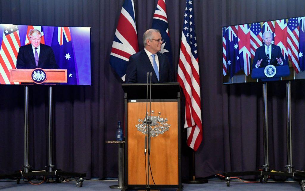 World announces new strategic alliance with US, Australia and UK Indo-Pacific region
