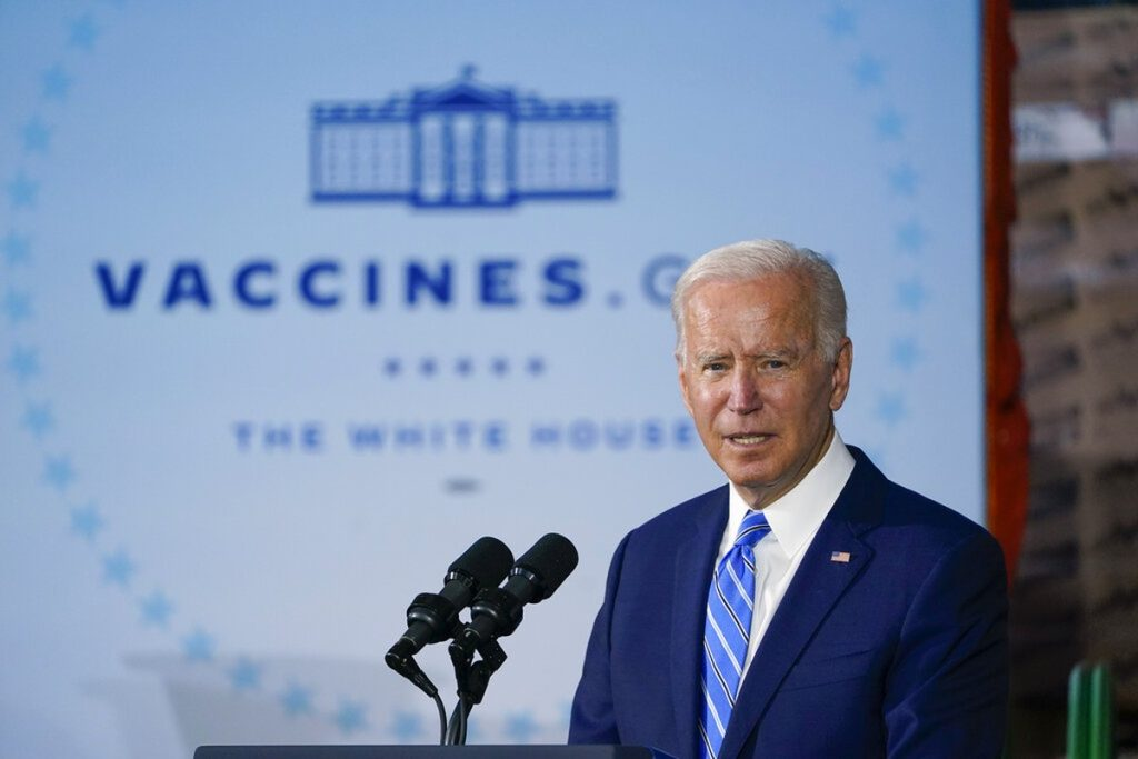 Biden urges US companies to demand COVID-19 vaccinations    Globalism