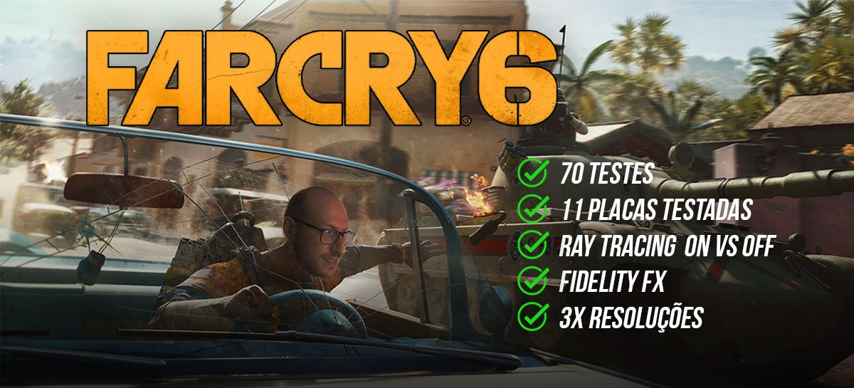 Far Cry 6:11 board review, RT ON and OFF and Fidelity FX test!