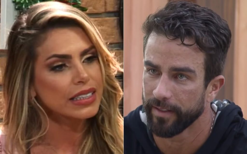 After being eliminated from A Fazenda 13, Erika opens a relationship game with Erasmo TV News