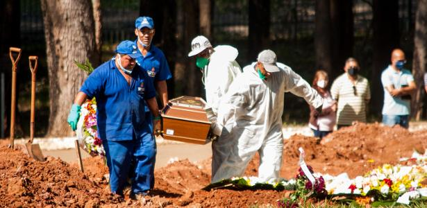 Brazil completes a week with average deaths below 500
