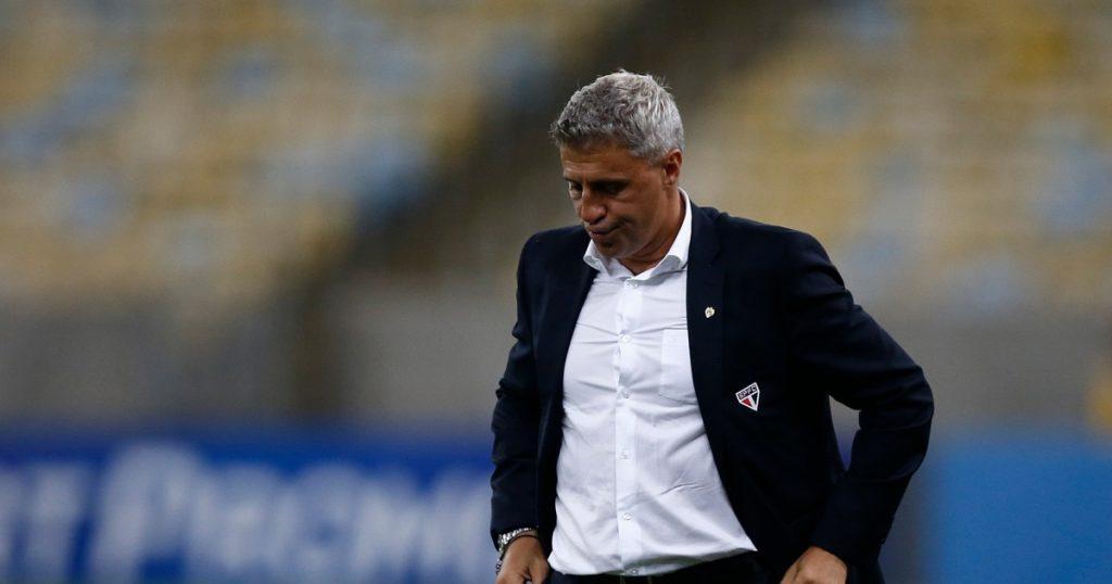 Hernan Crespo no longer coach of Sao Paulo