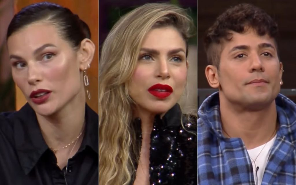 Poll vote shows who falls between Dayane, Erika and Tiago TV News