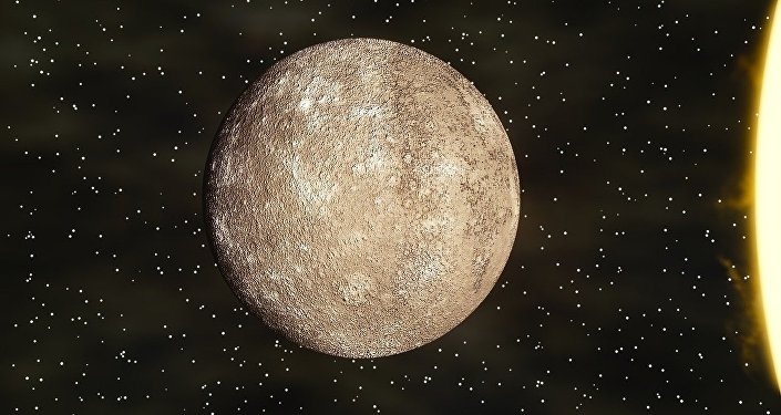 The BepiColombo space mission is sending its first image of Mercury showing the planet's craters and plains