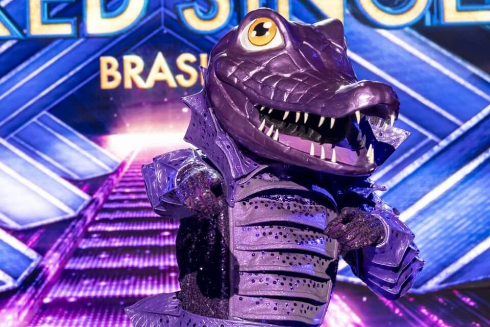 Who is the crocodile from The Masked Singer?  Samba Icon's Daughter Deceives the Judges